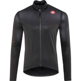 Castelli Pro Fit Light Rain Jacket Herren light black